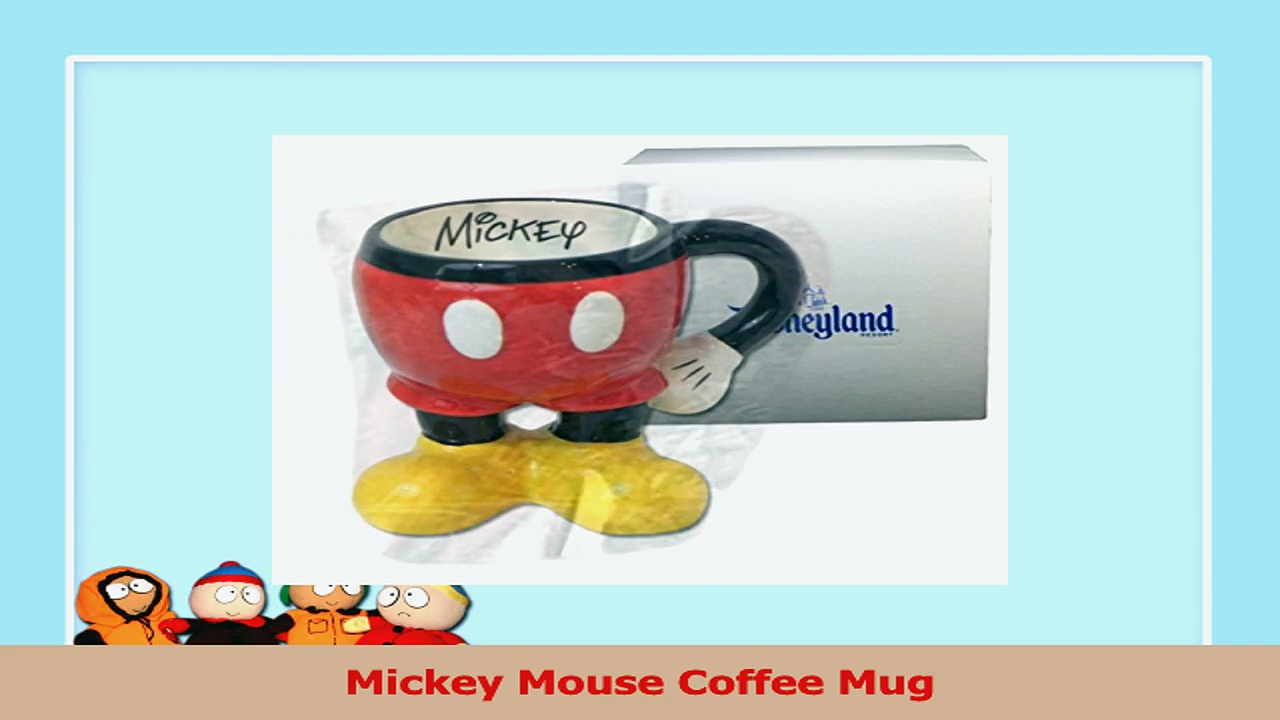 Mickey Mouse Coffee Mug 755f62bb