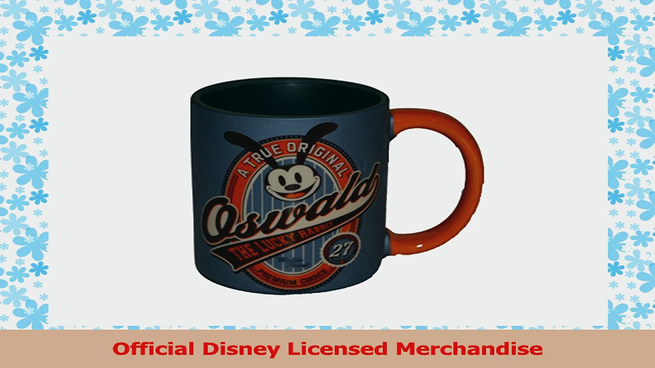 Authentic Disney Oswald the Lucky Rabbit Coffee Mug  A True Original from Walt Disney c5674473