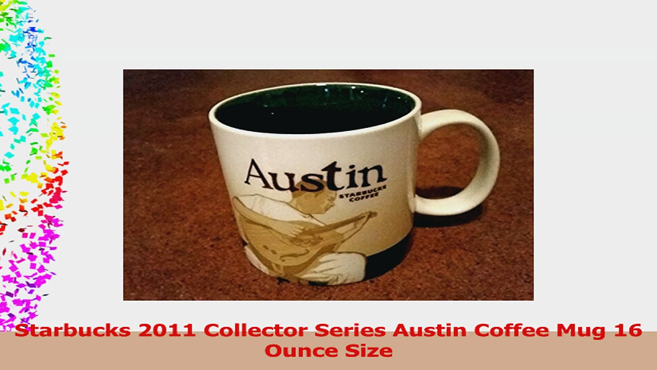 Starbucks 2011 Collector Series Austin Coffee Mug 16 Ounce Size 4a9cdec8