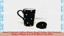 16 oz Polka Dots Travel Mug Color Black e2ad979c