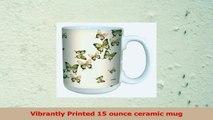TreeFree Greetings lm43654 Magnificent Butterflies in Flight by Shell Rummel Ceramic Mug 2d3ec9ef