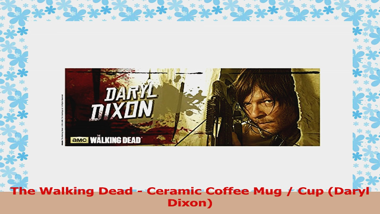 The Walking Dead  Ceramic Coffee Mug  Cup Daryl Dixon 5915f200