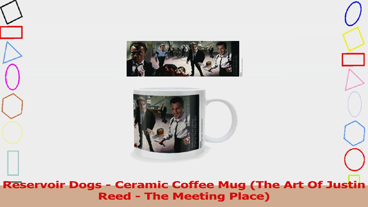 Reservoir Dogs  Ceramic Coffee Mug The Art Of Justin Reed  The Meeting Place 9617d011
