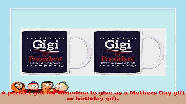Political Gifts Gigi for President Grandma Gifts Funny 2 Pack Gift Coffee Mugs Tea Cups c3ed3a84