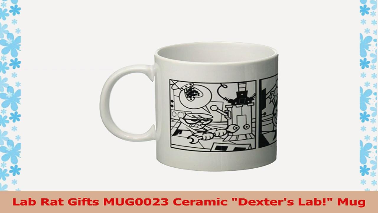 Lab Rat Gifts MUG0023 Ceramic Dexters Lab Mug 045a93fd
