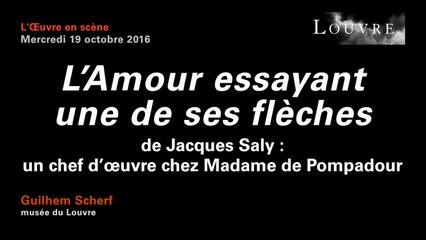 """""""L'Amour essayant une de ses flèches"""" de Jacques Saly : Un chef d'œuvre chez Madame de Pompadour"""