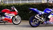 DUCATI 959 PANIGALE MOTO Gp REPLICA Vs YAMAHA R1 MOTO Gp REPLICA