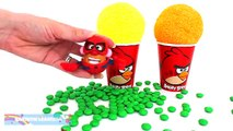 Foam Clay Surprise Eggs Ice Cream Cups Minions Minnie Spiderman Teletubbies RainbowLearning