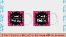 Aunt Birthday Gifts Aunt Like Mom Without the Rules Mom Mug 2 Pack Gift Coffee Mugs Tea 7b35ee24