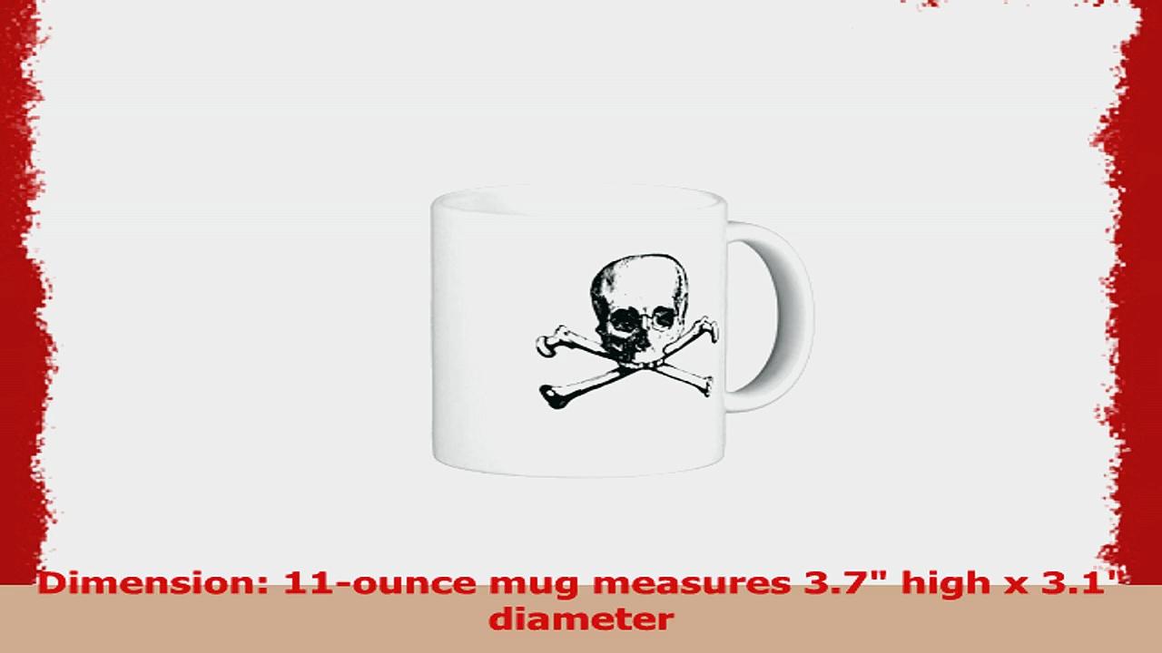 Modern Design Pattern Skulls Classic White Coffee Mug 73b00f28