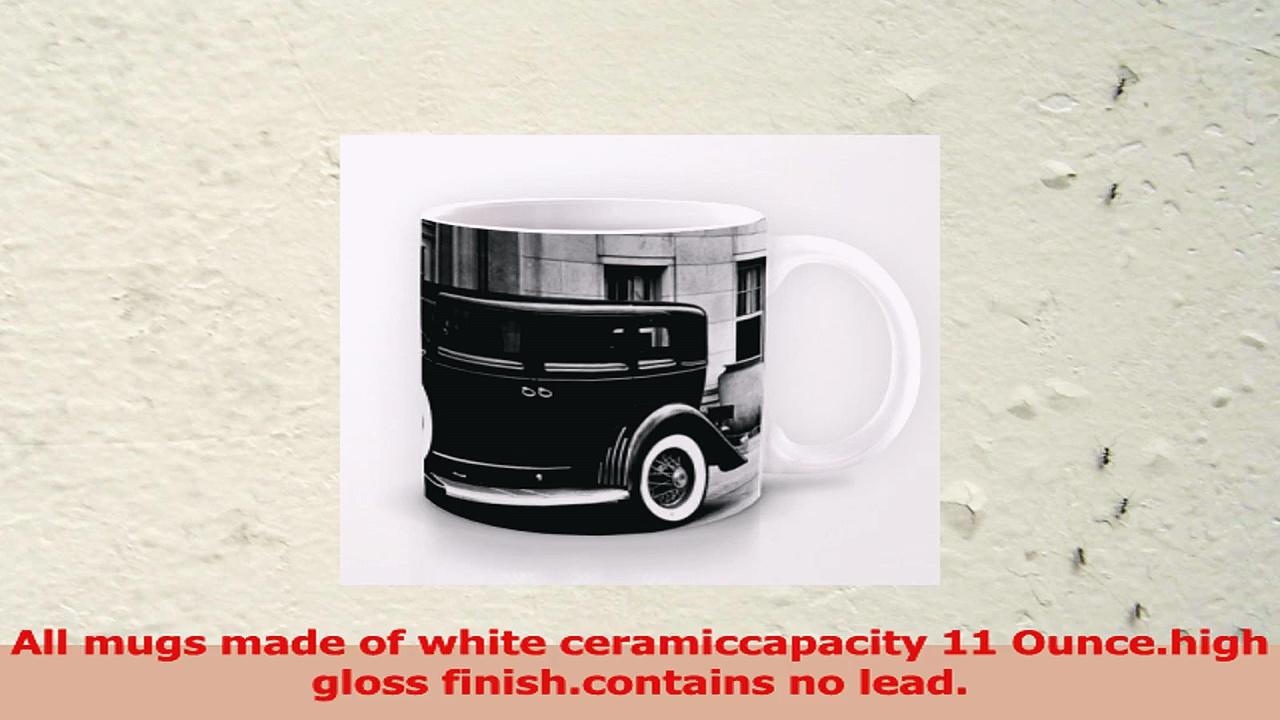 Uique Gift Choice  White 11 oz Classic White Ceramic Mugs Cutom Design with Duesenberg 43489d22