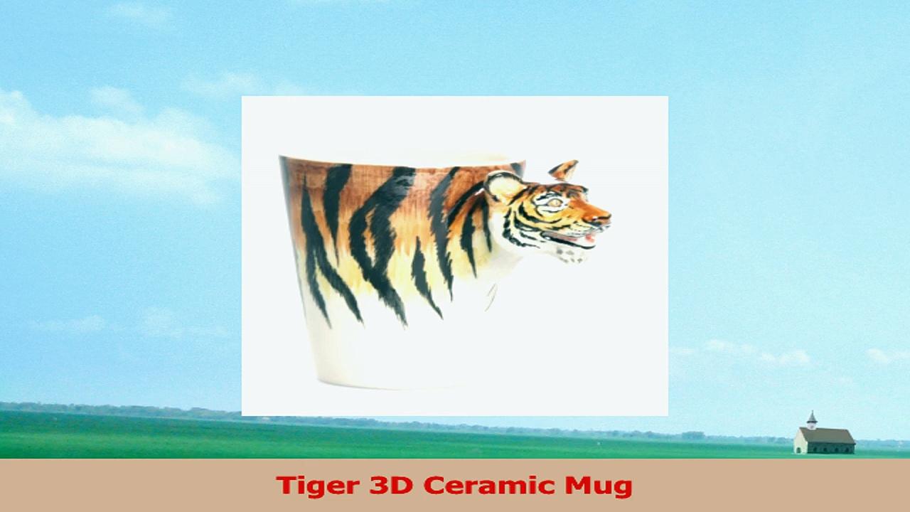 Tiger 3D Ceramic Mug da4be9bb