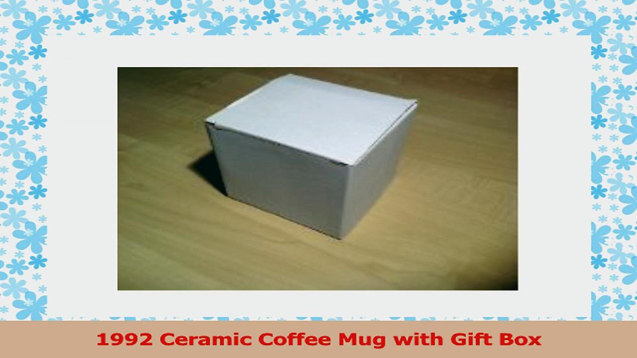 1992 Birthday Gift  1992 Coffee Mug d10f2d73