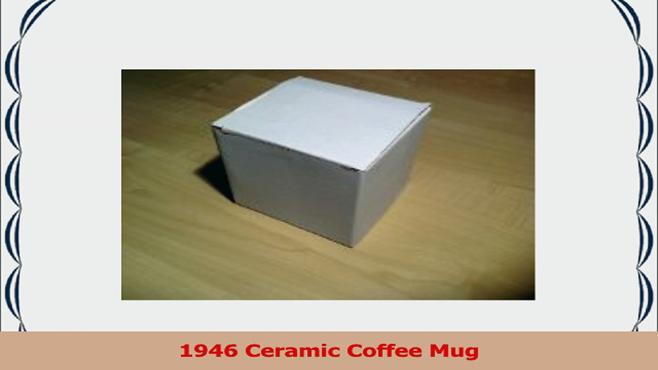 1946 Birthday Gift  1946 Coffee Mug e282f248