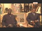 Daoukro: Le Président Henri Konan Bédié a échangé avec Boureima Badini et le couturier Pathé O