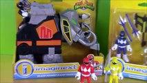 Imaginext Mighty Morphin Power Rangers Yellow Red Blue Black Rangers Mastadon Zord Toys