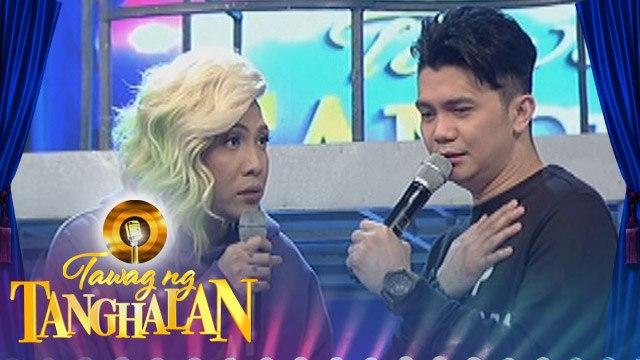 """Tawag ng Tanghalan: Vice to Vhong, """"Sisigawan mo ako sa harap ng maraming tao"""""""