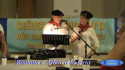 Arleto e Ramoun - Cafè Prouvençau - Sant-Laurèns d'Eigouso
