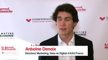"""Antoine Denoix (AXA) : """"L'assureur apporte de la confiance"""""""