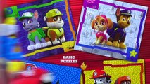 PAW PATROL Puzzle Games Rompecabezas Marshall Chase Skye Zuma Rocky Rubble Ryder Kids Toys Puzzles