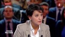 """""""Que comptez-vous investir dans l'école publique ?"""" - Najat Vallaud-Belkacem débat face à Marine Le Pen"""