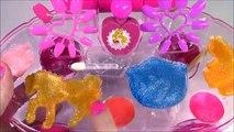 Disney Princess Beauty Carriage! Makeup! Lip Gloss & Nail Polish! Sweet Surprises Lip Gloss! FUN