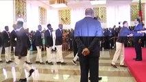 Cameroun, Le Couple présidentiel reçoit les lions indomptables
