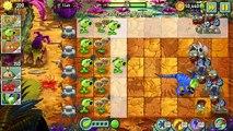 Plants vs Zombies 2 - Jurassic Marsh Day 12 (Old Version): Jurassic Gargantuar
