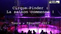 VIDEO. Tours : le cirque Pinder en piste