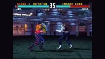 Tekken 3 - Jin Kazama, No Continues, Heihachi, Ogre
