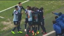 1-0 JULAN NATHAEL Goal - Le Havre 1-0 Bourg Peronnas - 10-02-2017