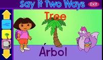 Дора исследователь и Чико учить испанский/английский! Удовольствие Дора исследователь полный эпизод видео игры