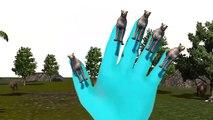 3D анимированные Cheethah семья палец рифмы для детей | Топ 10 Finger семья песни животных