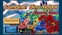 A Tisket A Tasket - Nursery Rhymes For Children - Combine Dino Robot Dinosaur Corps