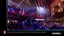 Victoires de la musique 2017 : Bruno Guillon et Thomas Thouroude s'embrassent en direct (vidéo)