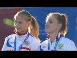 Women's 4x100m relay T35-38 | Victory Ceremony | 2014 IPC Athletics European Championships Swansea