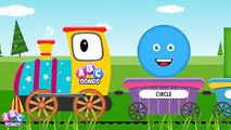 Learn Shapes with the Shapes Train ,  Shapes Song ,  2D Shapes