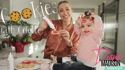 Baking Cookies with Colette -Mommy Diaries