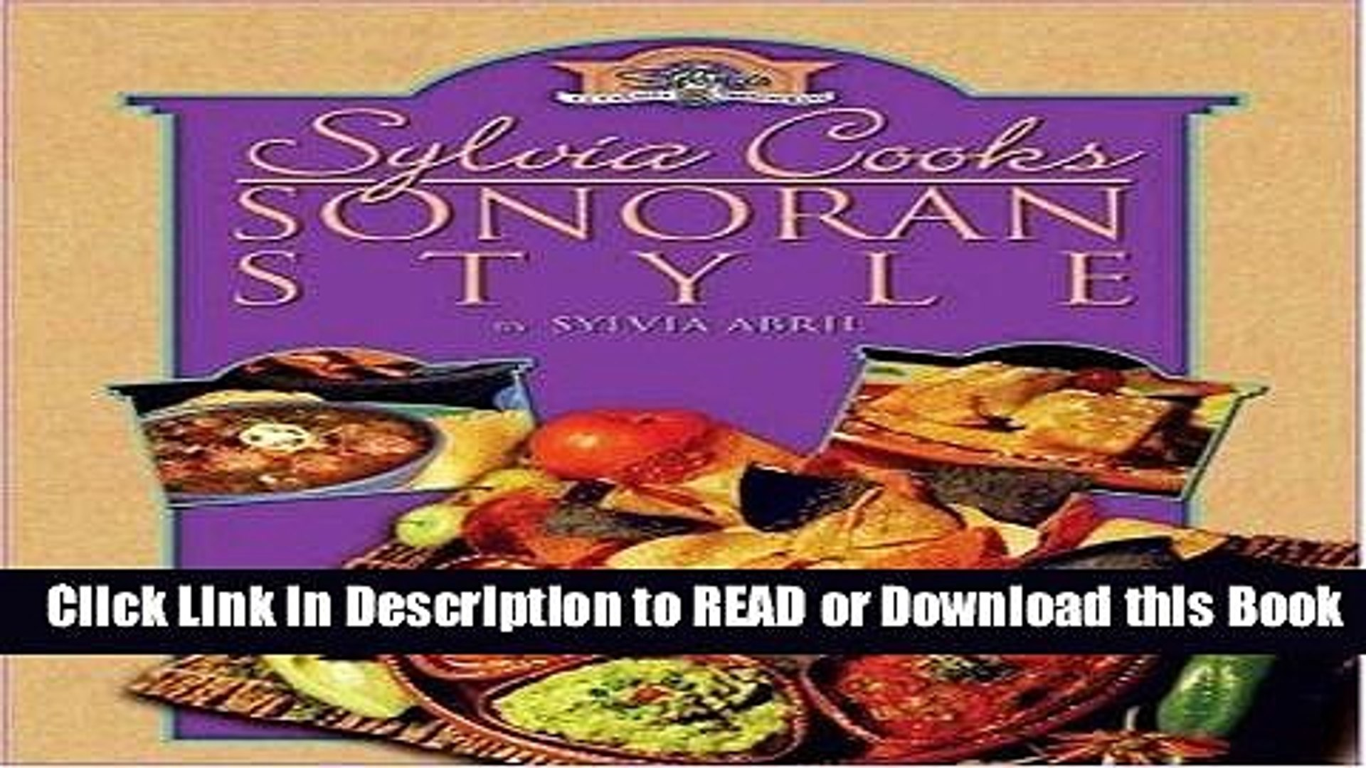 BEST PDF Sylvia Cooks Sonoran Style Read Online