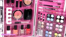 My New MAKEUP CASE! Nail Polish! 32 Eyeshadows Lipstick! Brushes! BubblePOP Beauty FUN