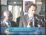 Albert Gérard Koenders, chef de l'ONUCI rend visite au Rassemblement des Républicains (RDR)