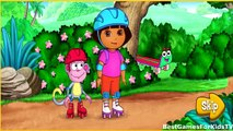 Дора игры Дора, кататься на роликах Приключения видео для маленьких детей