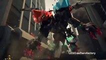 Lego Hero Factory - Splitter Beast mot Furno och Evo 44021 & Evos XL Maskin 44022