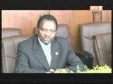 Le ministre de la justice Ahoussou Jeannot a échangé avec deux délégations de l'UA