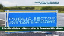 DOWNLOAD Public Sector Accounting and Budgeting for Non-Specialists Kindle