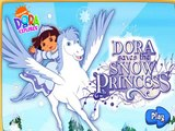 Dora saves the snow princess game,nice game for childrens,fun game for kids,best game for child,