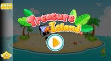 Treasure Island - Panda Games - Babybus - Gameplay app