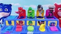 PJ Маски Pop Up Toy сюрпризами Best Learn Colors Видео для детей
