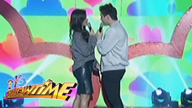 "It's Showtime: Liza and Enrique sing ""Pag-ibig"""