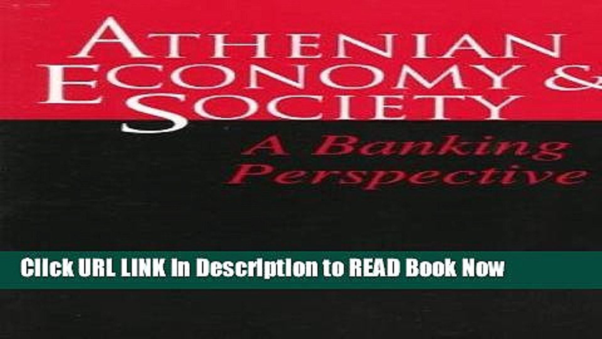 [DOWNLOAD] Athenian Economy and Society: A Banking Perspective Book Online